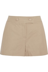 M Missoni Linen And Cotton Blend Shorts