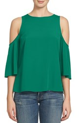 1.State Women's Cold Shoulder Blouse