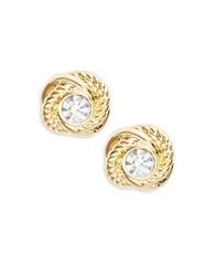 Kate Spade Textured Knot Stud Earrings Gold