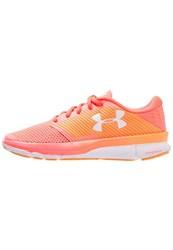 Under Armour Charged Reckless Cushioned Running Shoes Brilliance Coral