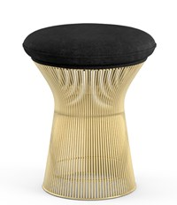 Knoll Platner Gold Stool Yellow
