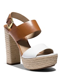 Michael Kors Espadrille Platform Sandals Summer High Heel