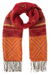Dorothy Perkins Folk Scarf Orange