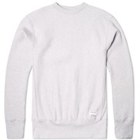 Mki Miyuki Zoku Mki Heavyweight Made In Usa Crew Neck Sweat Grey