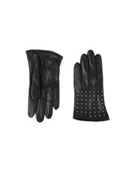 Alexander Mcqueen Gloves Black