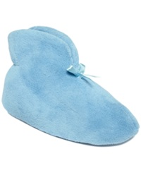 Muk Luks Chenille Boot Slippers Women's Shoes Blue Mist