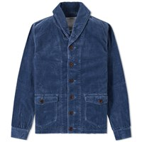Visvim Kobuk Shawl Collar Jacket Blue