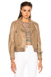 Acne Studios Mock Jacket In Brown Neutrals Brown Neutrals