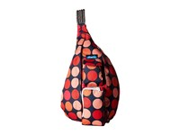 Kavu Rope Sling Fire Ball Backpack Bags Orange