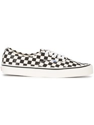 Vans Authentic 44 Dx Low Top Trainers Canvas Rubber White