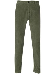 Department 5 Corduroy Skinny Trousers Green