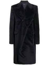Y Project Pointed Lapel Coat Black