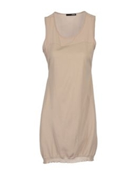 .Tessa Sleeveless Sweaters Beige