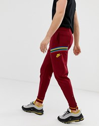 Nike Re Issue Sweatpants In Red