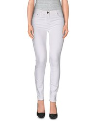 Elisabetta Franchi Jeans Trousers Casual Trousers Women White