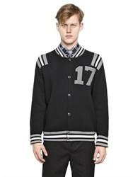Givenchy 17 Wool Sweater Bomber Jacket