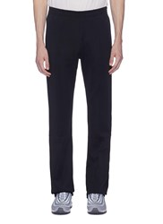 Faith Connexion Slim Fit Pintucked Track Pants Black