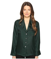 Mcq By Alexander Mcqueen Lounge Shirt Evergreen Women's Long Sleeve Button Up