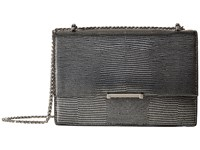 Ivanka Trump Mara Cocktail Bag Silver Metallic Lizard Bags