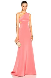 Kaufman Franco Kaufmanfranco Crepe Gown In Pink