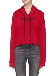Adaptation 'City Of Angels' Graphic Embroidered Hoodie