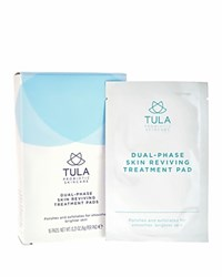 Tula Dual Phase Skin Reviving Treatment Pads No Color