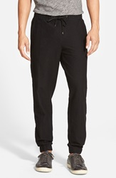 Vince 'City' Woven Jogger Pants Black Sulfur