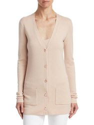 Ralph Lauren Long Sleeve V Neck Cardigan Pink