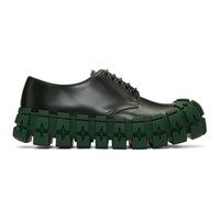 Prada Green Wheel Sole Derbys
