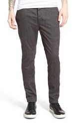 Men's Barney Cools 'B. Line' Slim Fit Chinos Grey