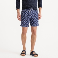 J.Crew 7' Board Short In Circle Floral