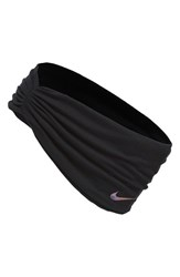 Nike 'Central' Headband Black Black Iridescent