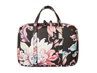 Elliott Lucca Travel Case Black Wildflower Handbags Multi