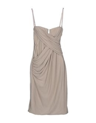Love Sex Money Short Dresses Light Grey