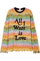 Ashish Oversized Sequined Silk Georgette Top Light Green