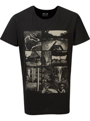 Osklen Photographic Print T Shirt Black