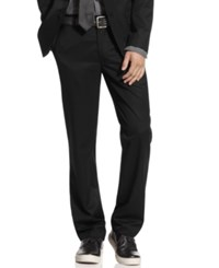 Kenneth Cole Reaction Pants Slim Fit Dress Pants Black