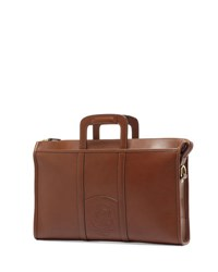 Ghurka Expediter Leather Attache Case Vintage Chestnut