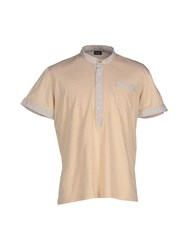 Dandg Topwear Polo Shirts Men Sand