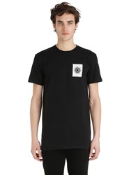 Fausto Puglisi Royalty Printed Cotton Jersey T Shirt