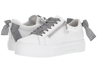 Kennel Schmenger And Big Gingham Lace Sneaker White Black Gingham Lace Up Casual Shoes Multi