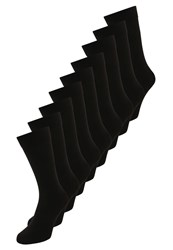 Zalando Essentials 9 Pack Socks Black