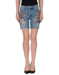 Mother Denim Denim Bermudas Women