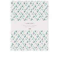 Hay Large Line Dot Notebook 2 Pack