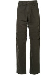 Y Project Layered Panel Trousers 60