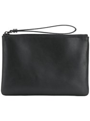 Common Projects Zipped Wristlet Pouch Black