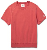 Todd Snyder Champion Loopback Cotton Jersey Sweatshirt Red