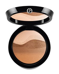 Giorgio Armani Limited Edition Life Is A Cruise Sunrise Face Palette Brown Pattern