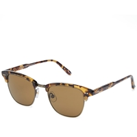 Garrett Leight Lincoln Sunglasses Dark Tortoise And Pure Brown