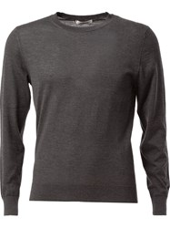 Valentino Crew Neck Sweater Grey